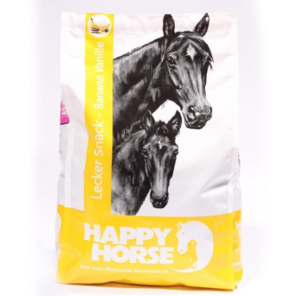 Happy Horse Lecker Snacks Banane Vanille