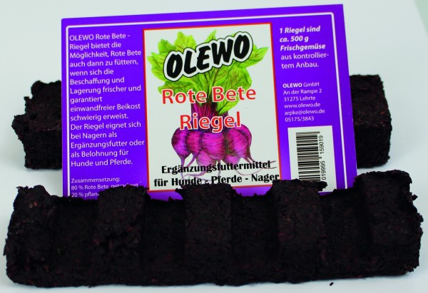 Olewo Rote Bete Riegel